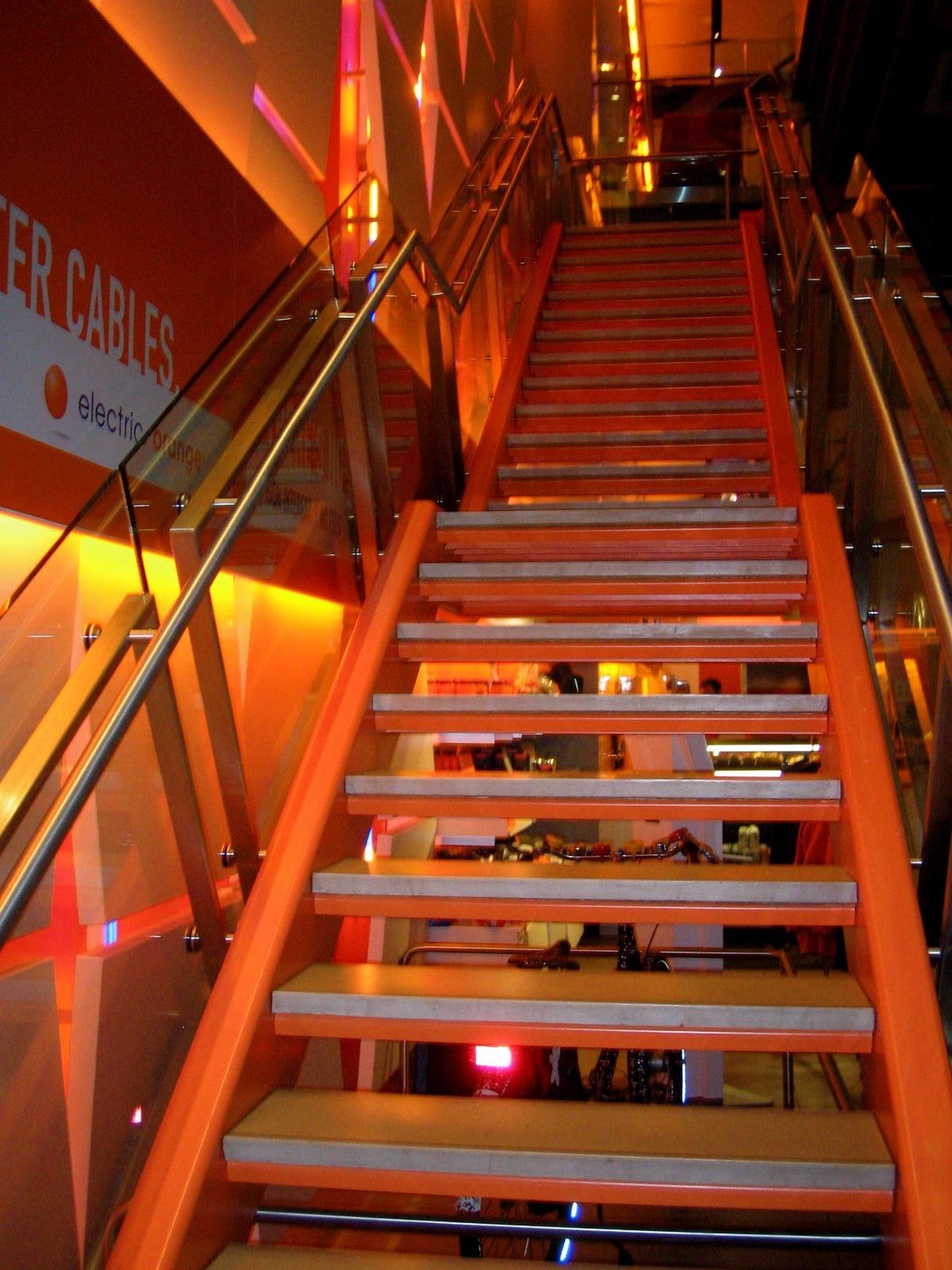 jodi sh doff  : onlythejodi : apples oranges : ING Direct stairway to heaven