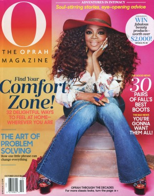 Oprah October 2015 Cover